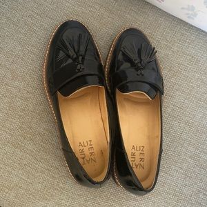 Beautiful Black Patent Leather Loafers
